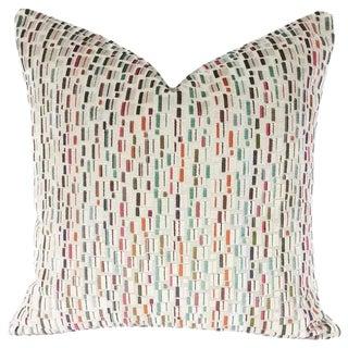 Gp & J Baker Lifestyle Maynard Oatmeal/Multi Pillow Cover For Sale