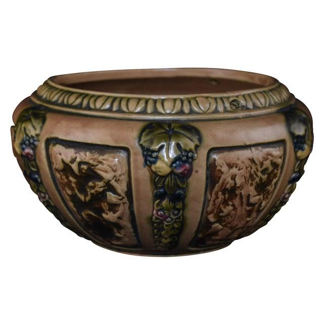Roseville Florentine Pottery Pot For Sale - Image 5 of 5