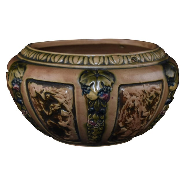 Roseville Florentine Pottery Pot - Image 5 of 5