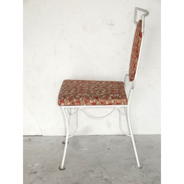 Mid-Century Modern Metal Chairs - Set of 4 - Image 6 of 8