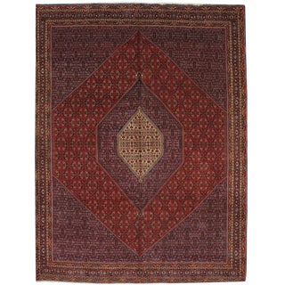 "Pasargad Persian Bidjar Hand-Knotted Rug - 10' X 13'3"" For Sale"