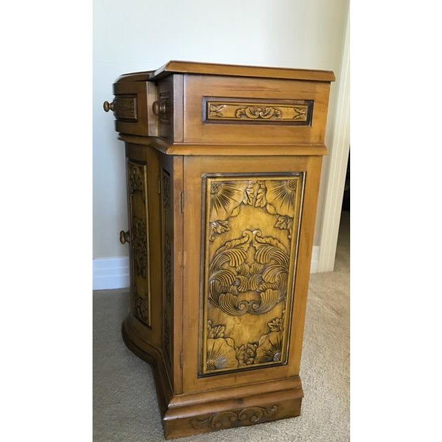 Decoratively Carved Cabinet - Image 4 of 5