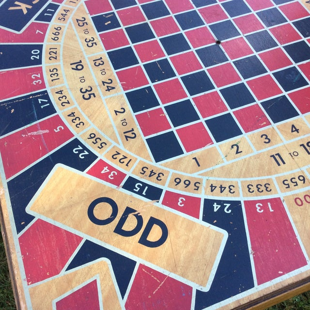 Vintage Five in One Game Table For Sale - Image 4 of 10