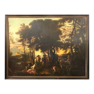 18th Century Italian Old Masters Oil Painting For Sale