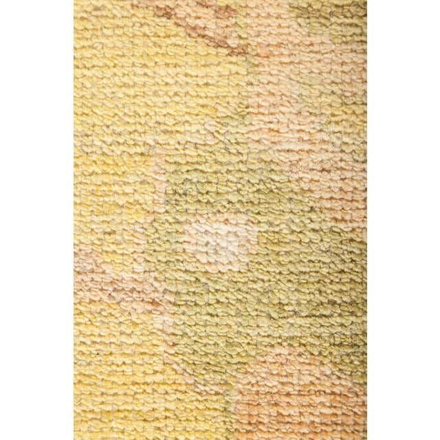 """Traditional Oushak Hand Knotted Area Rug - 12' 5"""" X 14' 6"""" For Sale - Image 3 of 4"""