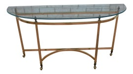 Image of Curved Console Tables