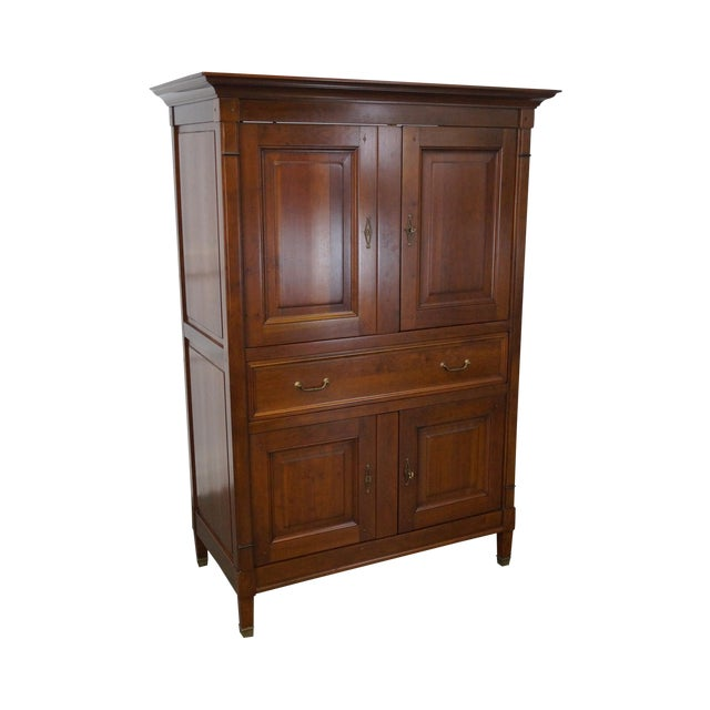 Grange French Directoire Style TV Armoire - Image 1 of 10