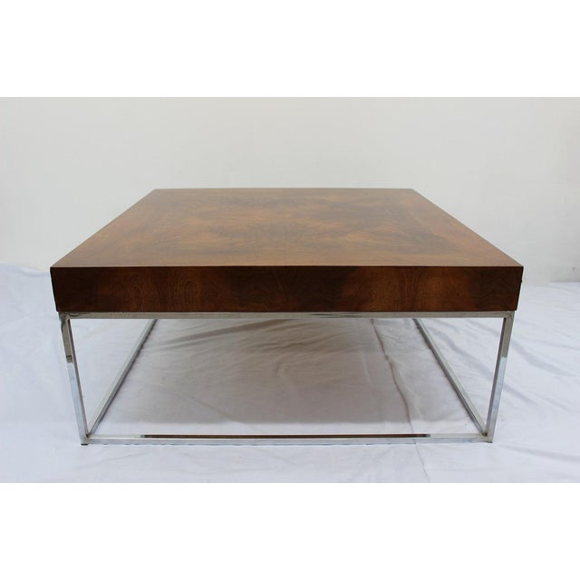 Mid Century Modern Milo Baughman coffee table - Image 2 of 7