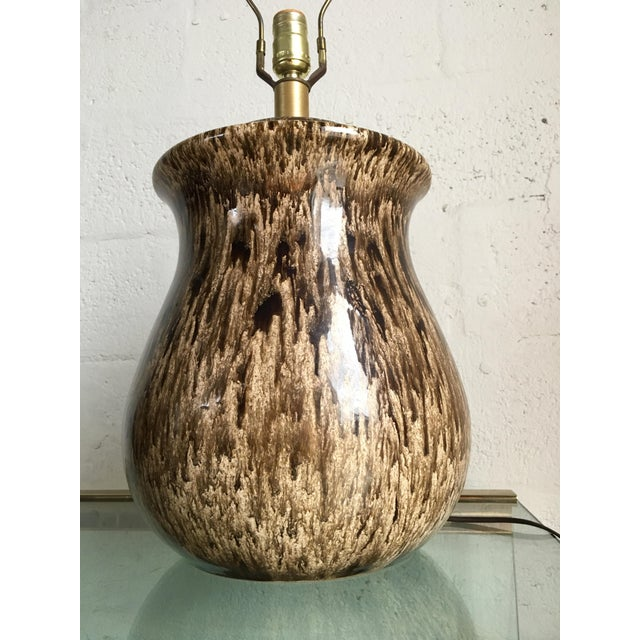 Vintage Mid-Century Ceramic Table Lamps - A Pair For Sale - Image 10 of 10