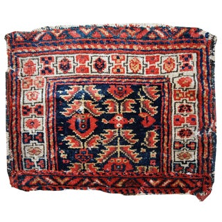 1900s Hand Made Antique Persian Malayer Bag Face For Sale