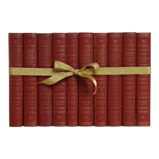 Vintage Rudyard Kipling Sienna Gift Set, S/10 For Sale