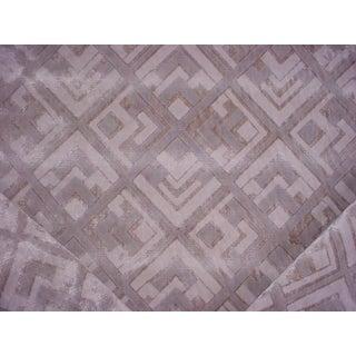 Contemporary Ralph Lauren Deco Bas Relief Velvet Upholstery Fabric - 10-3/4y For Sale