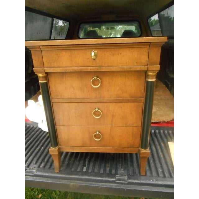 Baker Furniture Company Vintage Baker Furniture Nightstand For Sale - Image 4 of 8