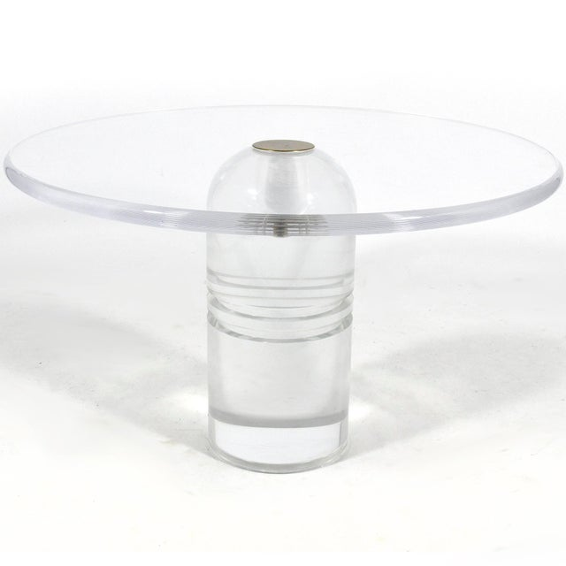 "Charles Hollis Jones ""Le Dome"" Table For Sale - Image 10 of 10"
