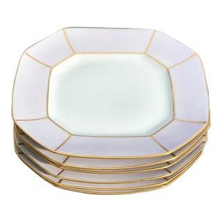 Antique French Porcelain Side Plates - Set of 6