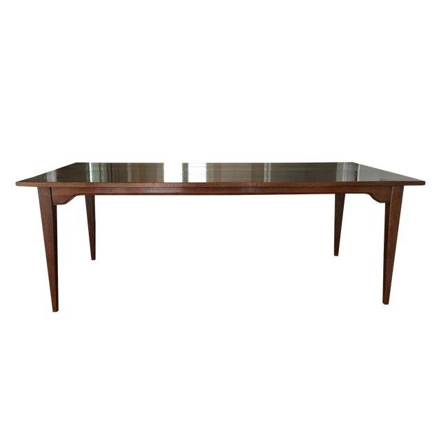 Traditional Solid Wood Dining Table - Image 1 of 5
