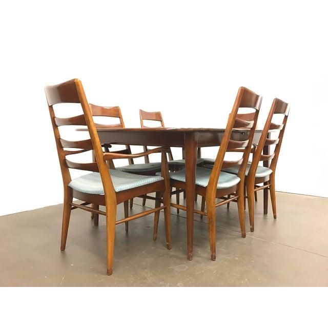 Mid-Century Heywood Wakefield Dining Set - Image 2 of 10
