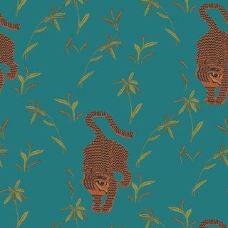 Stalking Tiger Jewel Prepasted Wallpaper For Sale