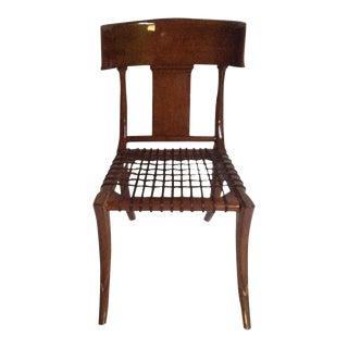 Mid Century Modern Klismos Dining Chair For Sale