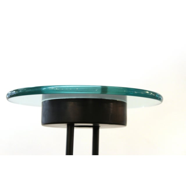 Late 20th Century Relux Italian Postmodern Torchiere Floor Lamp For Sale - Image 5 of 8