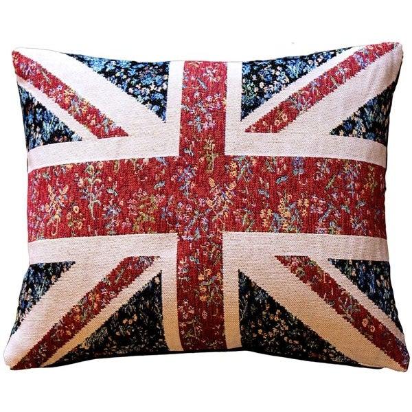 Pillow Decor - United Kingdom Flag 15x19 Pillow - Image 1 of 3
