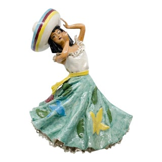 Le Pow California Porcelain Spanish Dancer Figure For Sale