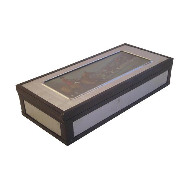 English Art Deco Trinket Box - Image 1 of 11