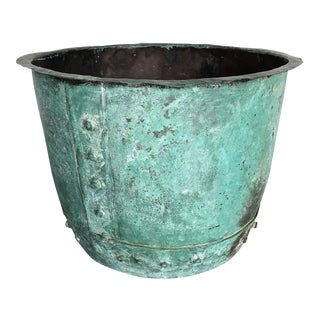Antique English Copper Container
