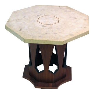1960s Mid-Century Modern Harvey Probber Occasional Table With Terrazzo Top For Sale