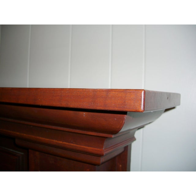 Never installed new solid cherry wood mantle. Not plywood. Customer purchased for a remodel and never used it. Never...