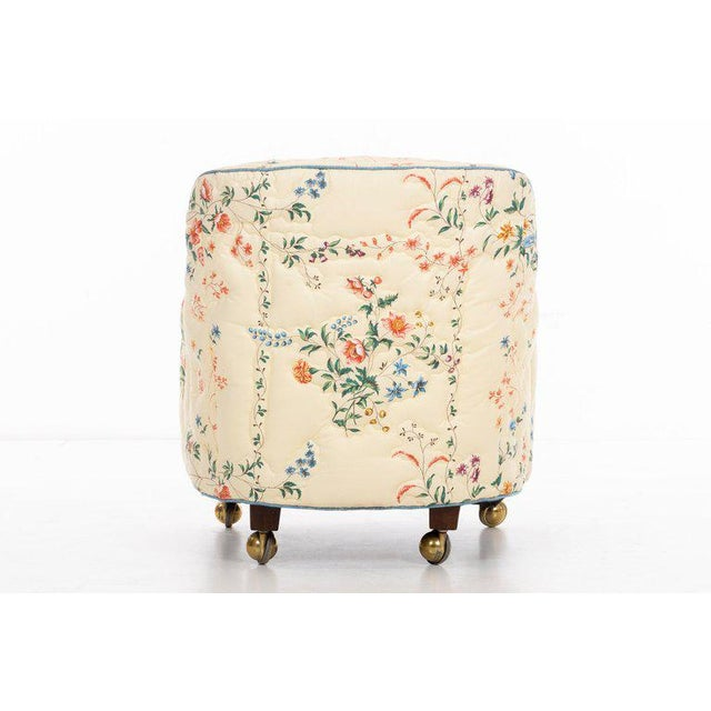 Textile Edward Wormley Pair of Chairs For Sale - Image 7 of 10