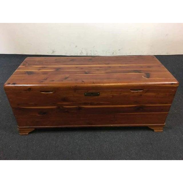Vintage Cedar Lined Storage Chest - Image 2 of 6