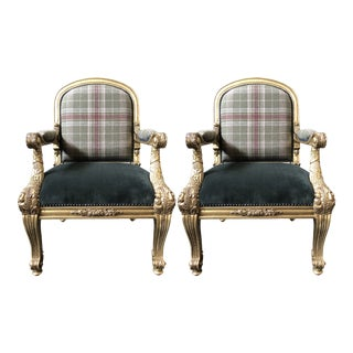 Ralph Lauren Home Duke's Host Chair - a Pair For Sale