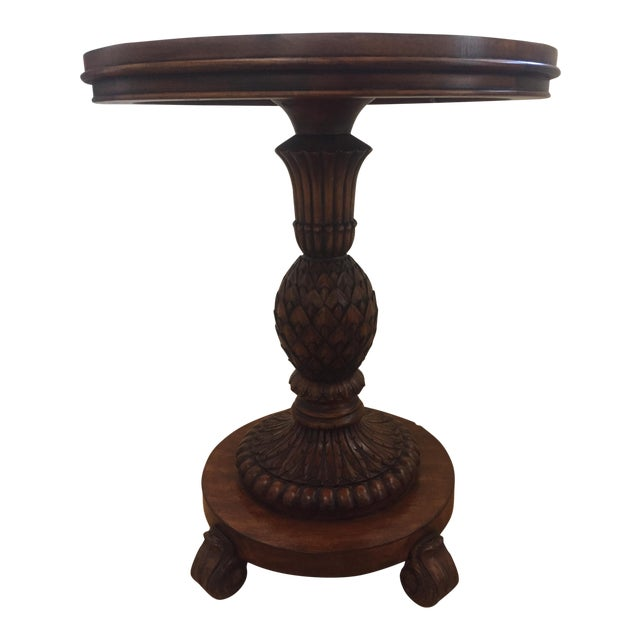 Ethan Allen Sofia Accent Table - Image 1 of 3