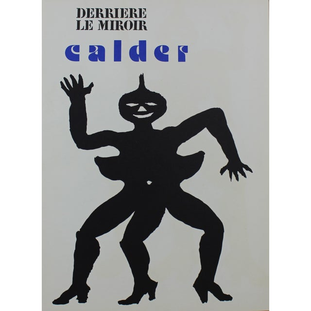 """Alexander Calder Derriere Le Miroir No. 212 Unsigned Book, 1966 From an edition size of 2500 15"""" x 11"""" single page, 15"""" x..."""