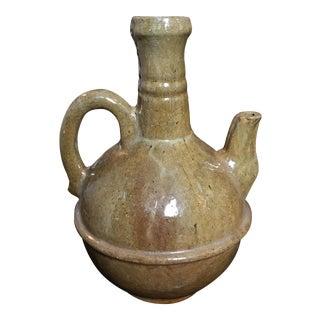 Antique Earthenware Pottery Jug