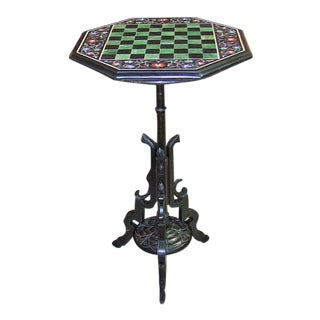 Pietra Dura Chess Board Marble Table