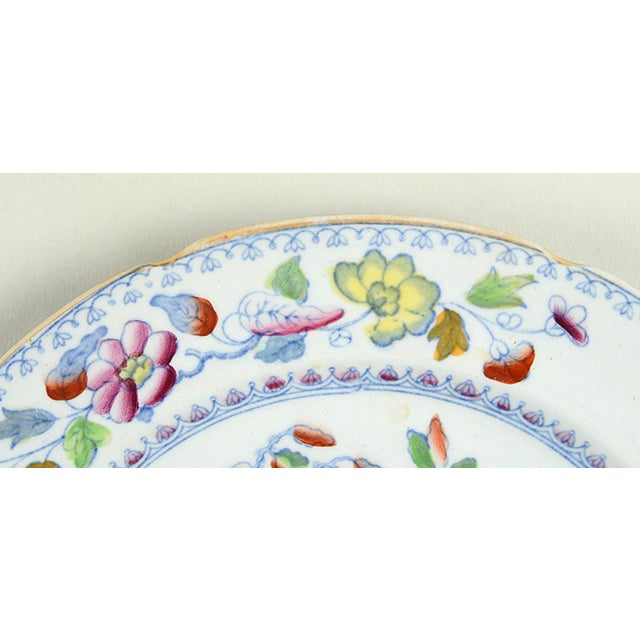 Asian Mason's Luncheon Plate - Set of 5 For Sale - Image 3 of 7