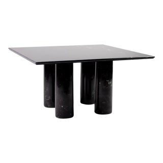 Mario Bellini Il Collonato Black Marble Table