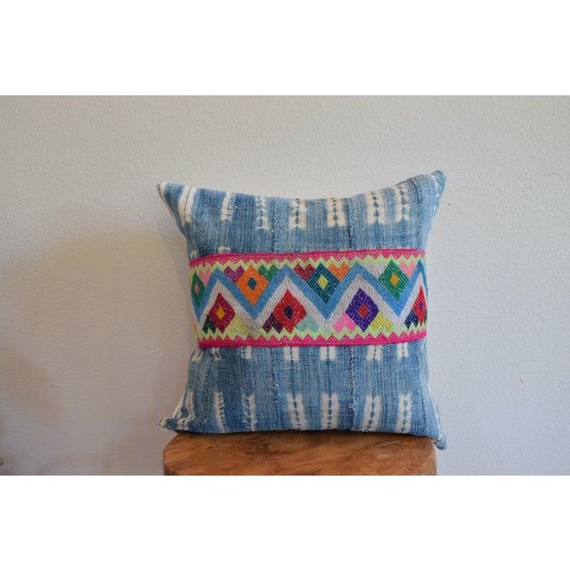 African Indigo Cinta Pillow - Image 2 of 4