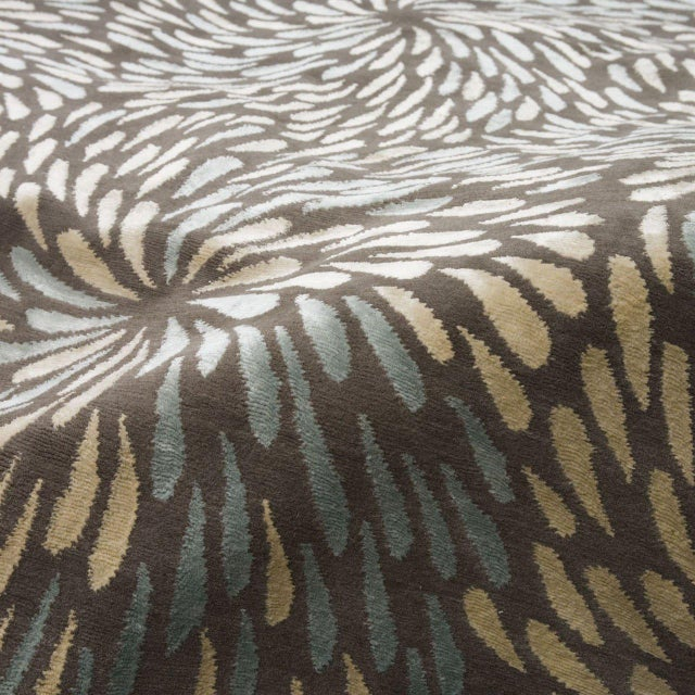 "Asian ""Swirl"" Rug by Emma Gardner For Sale - Image 3 of 6"