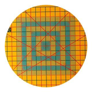 Vintage Circular Cutting Mat
