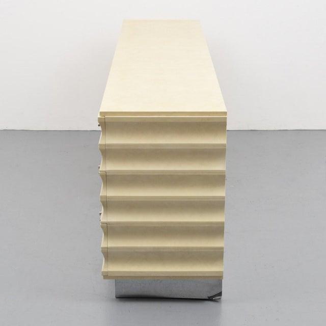 Modern Tommi Parzinger Lowboy Dresser For Sale - Image 10 of 11