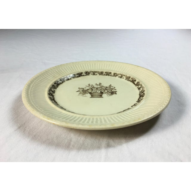 Late 19th Century Vintage Rorstrand Old Swedish Wall Hanging Plate