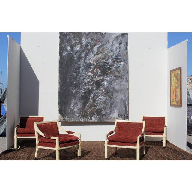 Jackson Pollock Contemporary Abstract Painting by Dehais For Sale - Image 4 of 8