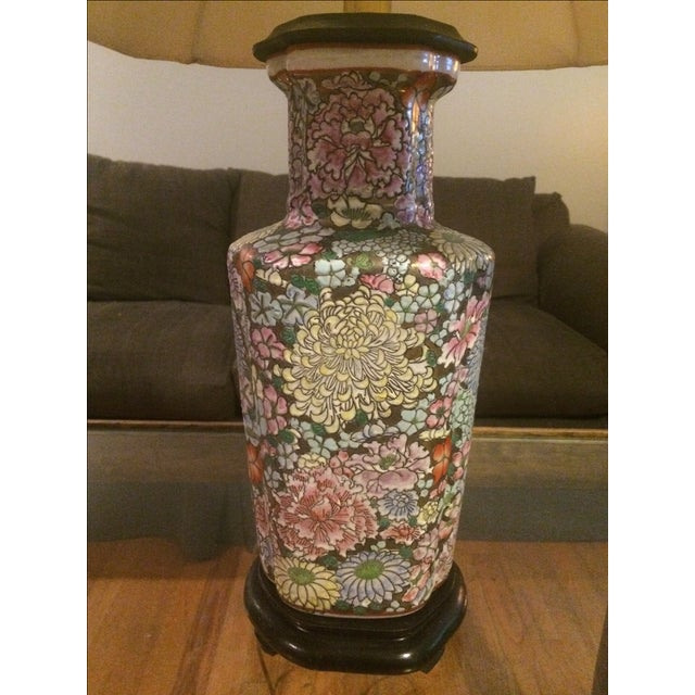 Vintage Maitland-Smith Ginger Jar Lamp - Image 6 of 6