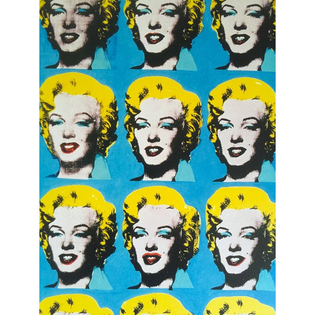 """Andy Warhol Foundation Rare 1993 Lithograph Print """"Twenty Five Marilyns"""" 1962 For Sale In New York - Image 6 of 10"""