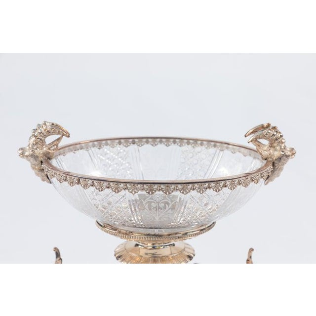 1900's Elkington and Company Sheffield Sterling Silver Centerpiece Bowl For Sale - Image 11 of 12