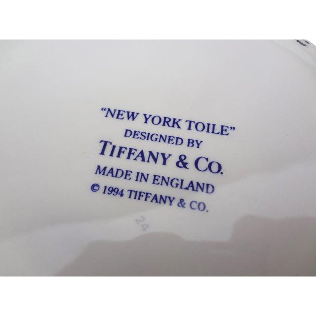 Tiffany & Co. Blue & White Lidded Trinket Bowl - Image 5 of 7