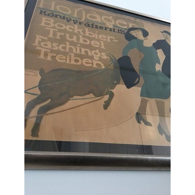 Hofjager Vintage German Poster Circa 1911 Chairish